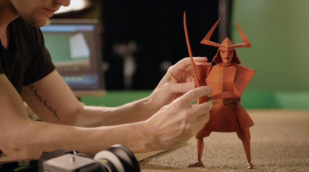 Stop motion Kubo and the two strings