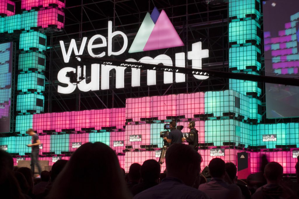 web summit center stage