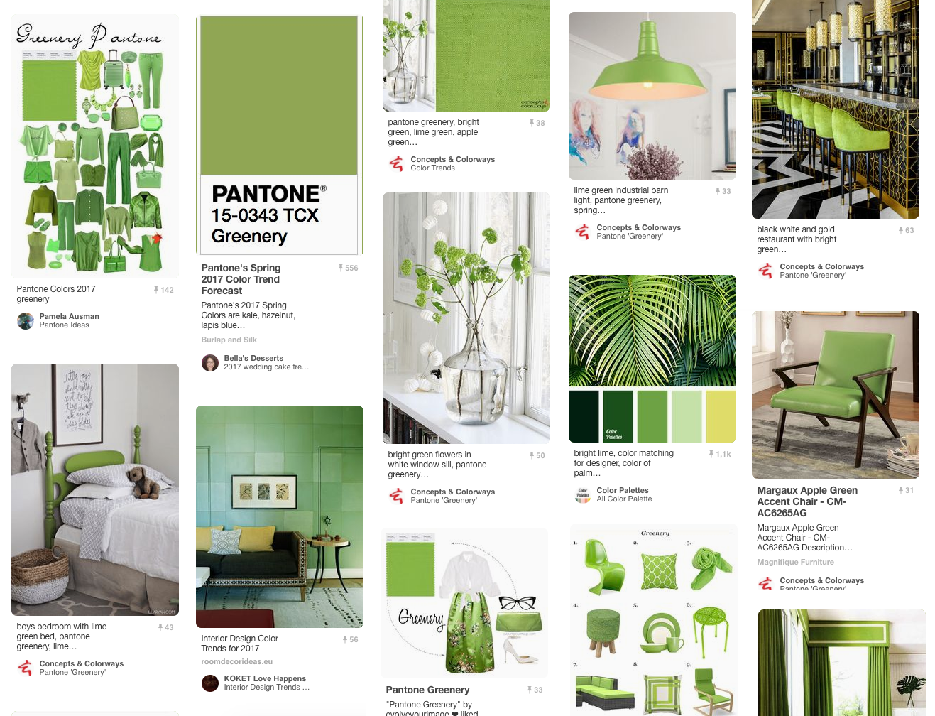 Greenery - Pantone color of the year 2017